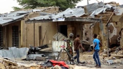 Maiduguri suicide attach: 12 people confirmed dead, 18 injured