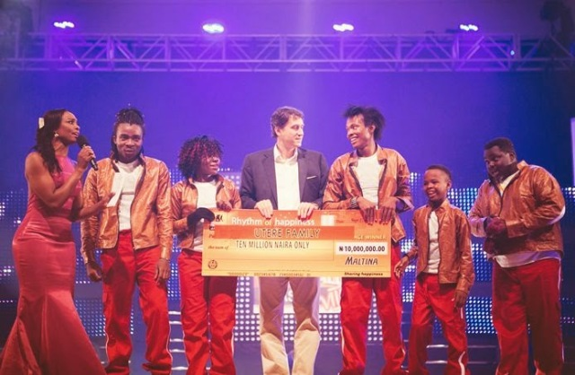 MALTINA DANCE ALL SEASON 8 WINNERS, THE UTERE FAMILY FIGHTS OVER MONEY