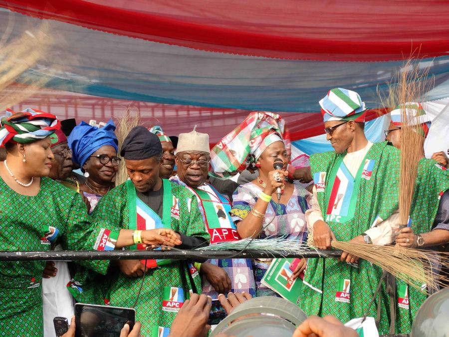 Buhari and APC men