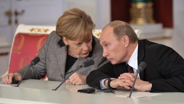 Merkel and Putin