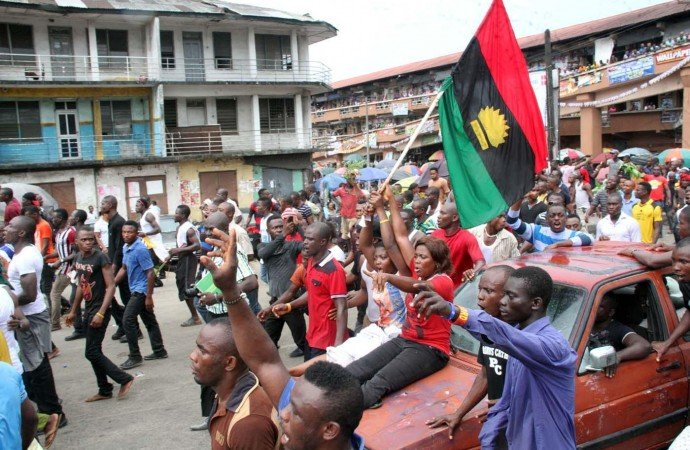 Biafra protesters3