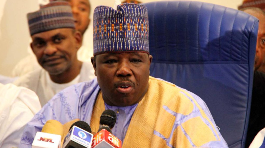Ali Modu Sheriff, the erstwhile chairman of the PDP