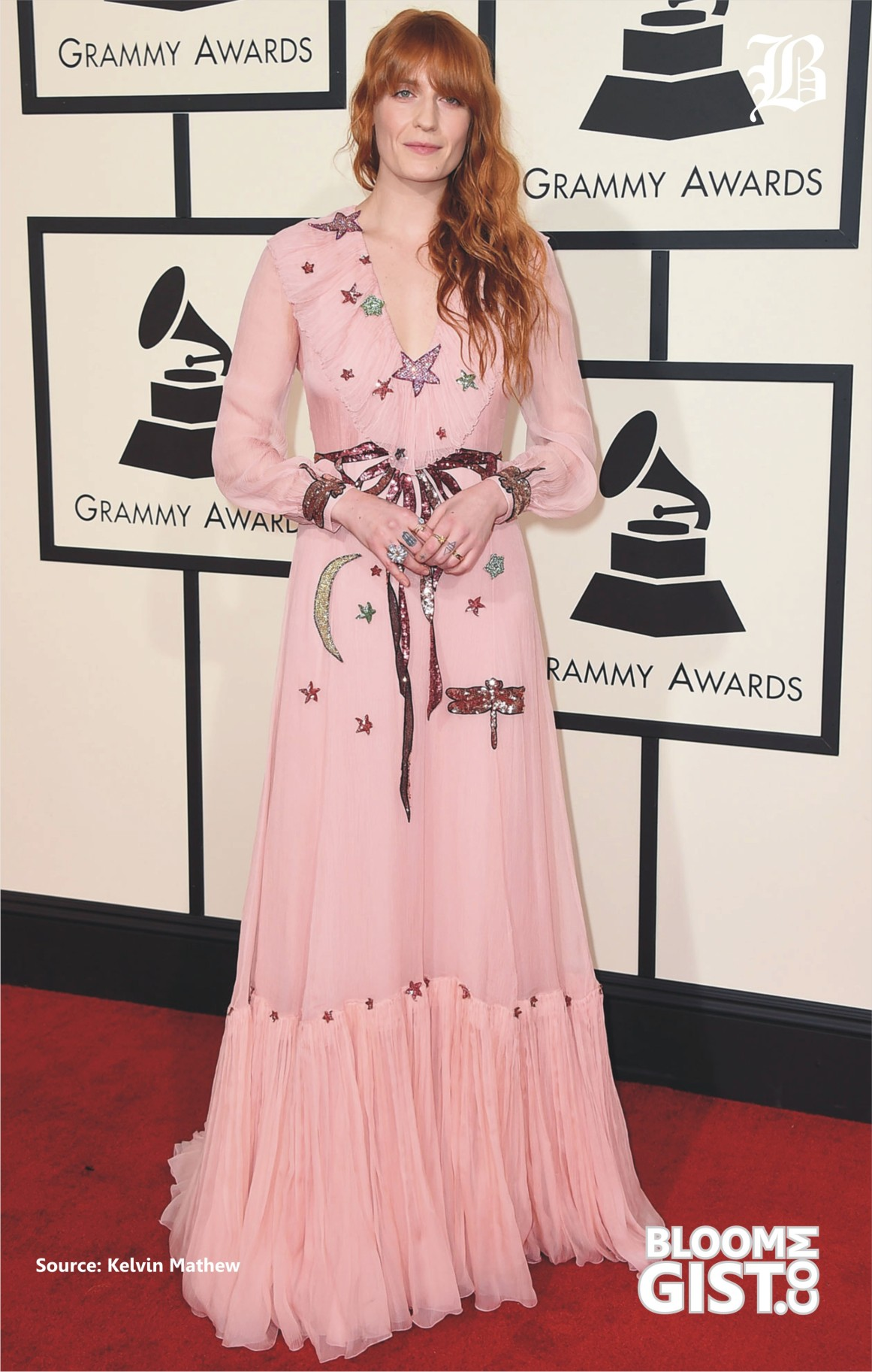 Revealing Blouses Testy Skins The Grammys 2016 Stars Who Made