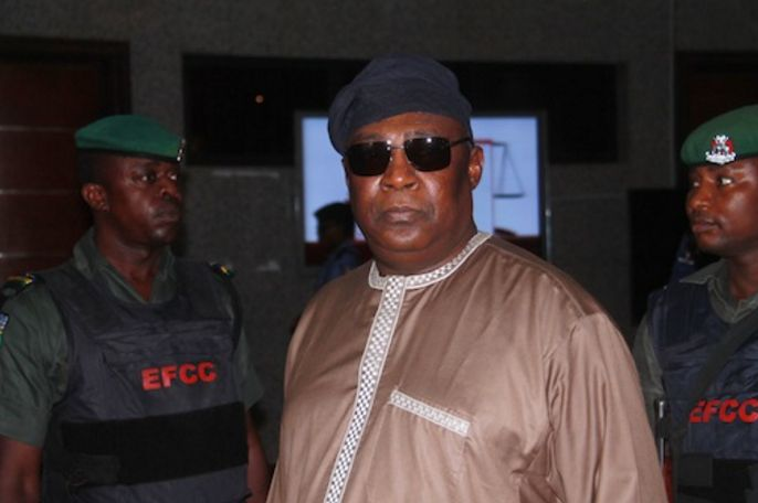 Former Chief of Defence Staff (CDS), Air Chief Marshall Alex Badeh (retd.)