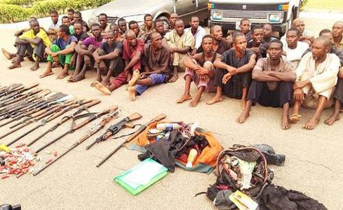 92 armed herdsmen arrested by soldiers in Abuja