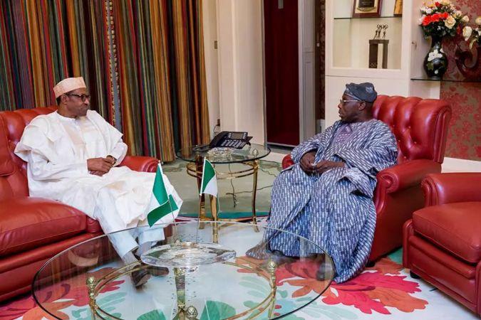 Buhari and Obasanjo 2