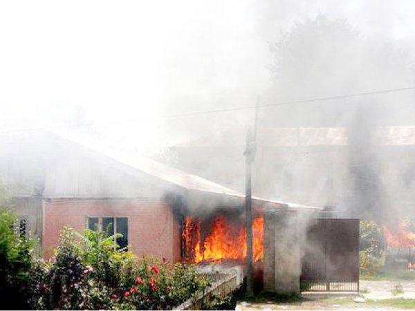 Fire oubreak kill 7 in Uyo