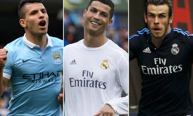 Man City v Real Madrid: it's a battle to final for Ronaldo, Bale and Aguero