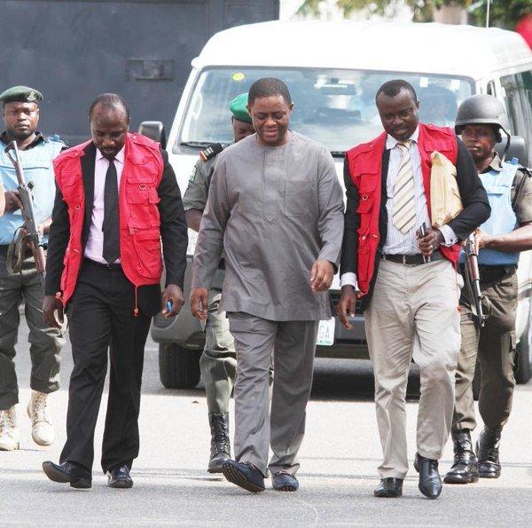 Fani-Kayode and EFCC operatives 1