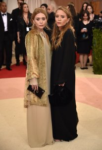 No one can accuse the Olsen twins of blindly following the crowd, I'll say that for them. Mary-Kate and Ashley are 29, but they have come to the Met dressed as late-middle-aged bohemian painters, drifting around their vast shabby-chic Primrose Hill villa in clothes they bought in The Cross and Voyage in the 1990s.