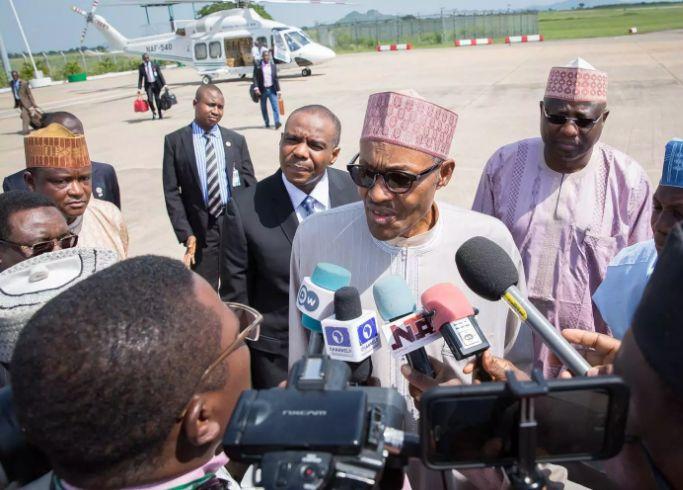 Buhari departs for medical treatment 2