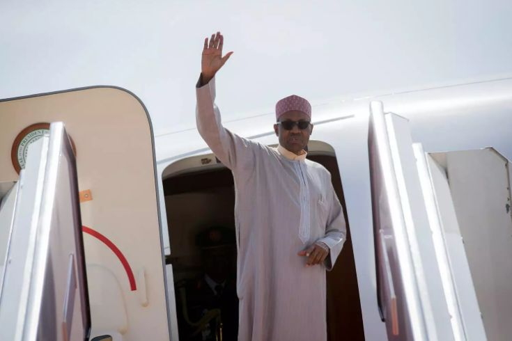 Buhari departs for medical treatment 6