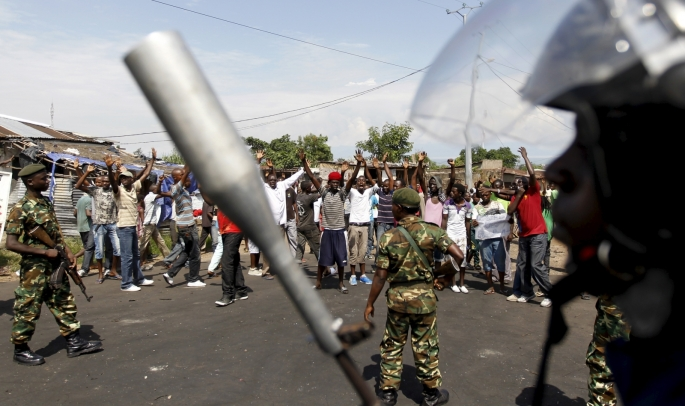 Burundi was hit by unrest after the president announced last year that he was seeking a third term