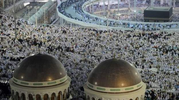The Hajj pilgrimage is an annual event