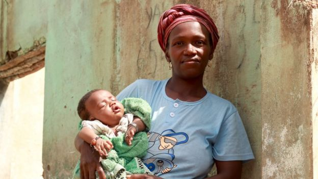 M'mah Camara refused midwives through her three days in labour