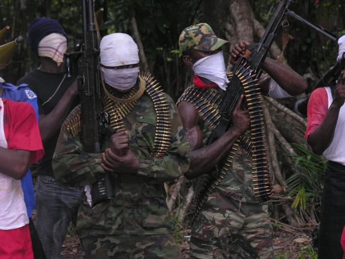 Niger Delta militants 5