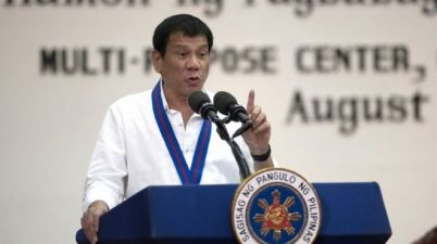 """Mr Duterte branded UN experts critical of his anti-drugs campaign as """"stupid"""""""