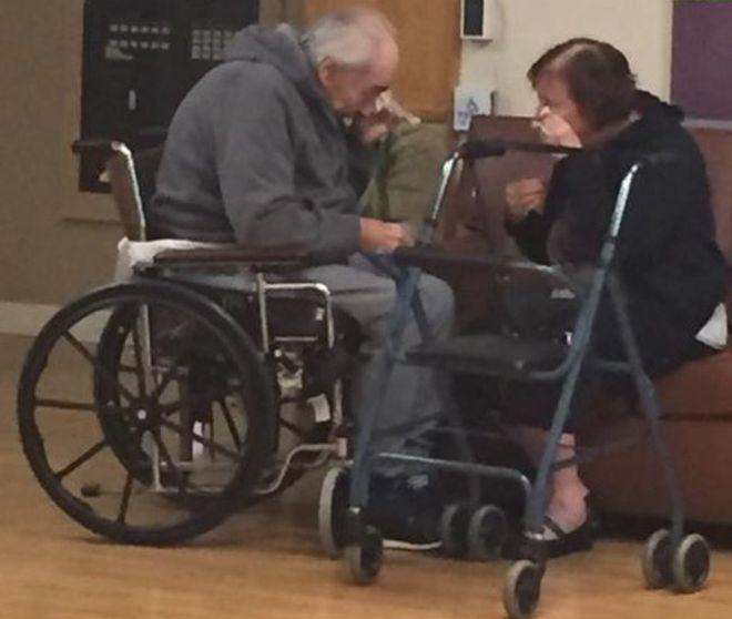 Wolfram Gottschalk, 83, and his wife, Anita, 81