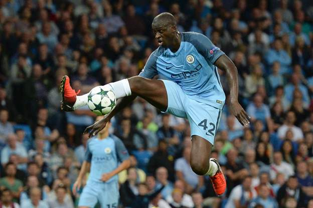 Yaya Toure has only played once for Manchester City this season