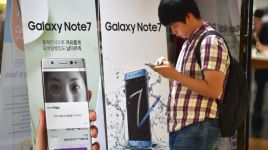 Note 7 users with faulty devices will not be able to charge their phones beyond 60%, according to the AP