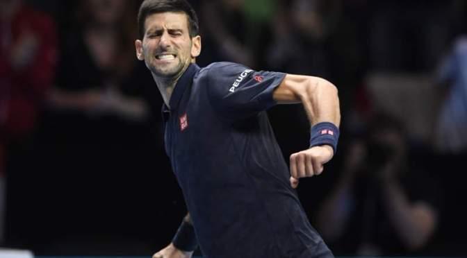 ATP World Tour Finals: Djokovic beats Thiem 6-7 (10-12) 6-0 6-2