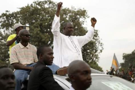Few expected Adama Barrow to be declared the winner