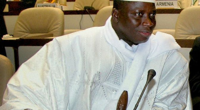 Islamic republic: Gambia president Yahya Jammeh in bid for fifth term