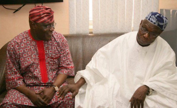 Olusegun Obasanjo and Atiku Abubakar
