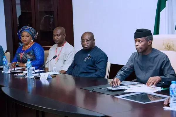 BREAKING: Osinbajo arrives Abia state after meeting El-Rufai in Kaduna