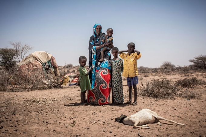 Somalia: the face of hunger and death