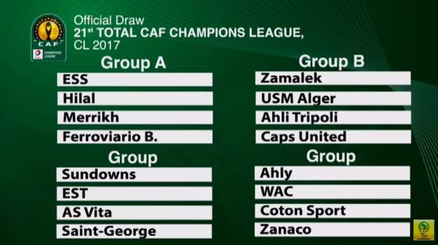 Champions League draw made with new new surprises