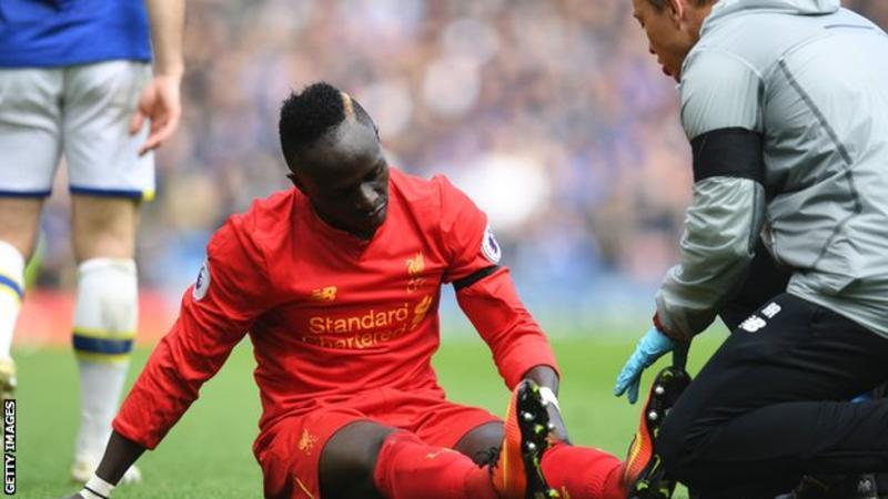 Liverpool forward Sadio Mane to miss rest of season with knee injury