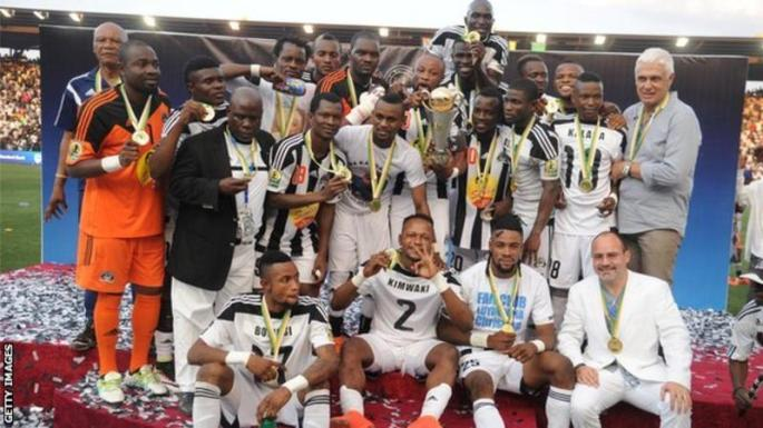 Confederation Cup: Defending Champions TP Mazembe through to group phase