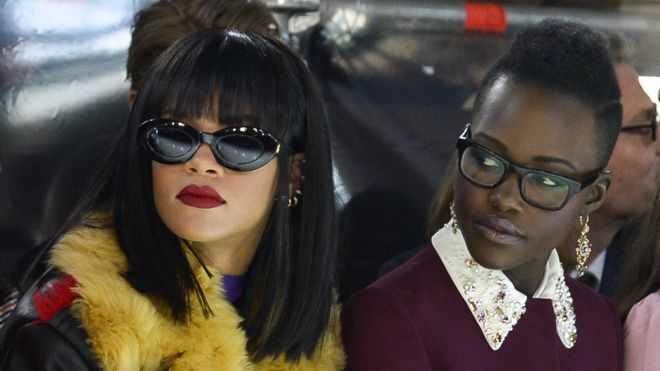 Rihanna and Lupita Nyong'o plans a twitter innitiated movie