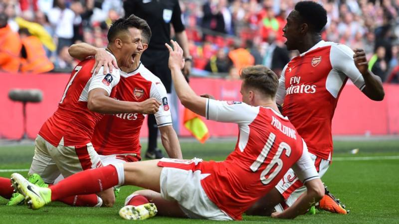 Arsenal through to FA Cup Finals with Chelsea after Beating Manchester City