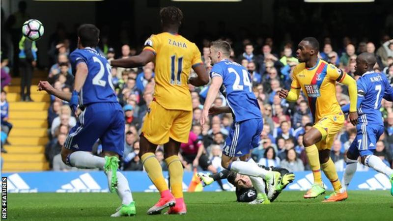 Benteke's goal against Chelsea was only his second in his last 14 league games