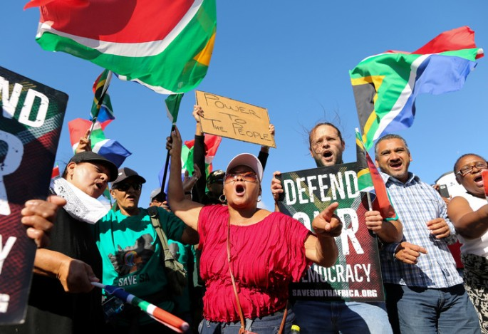 Survey explains on who marched against President Zuma and why