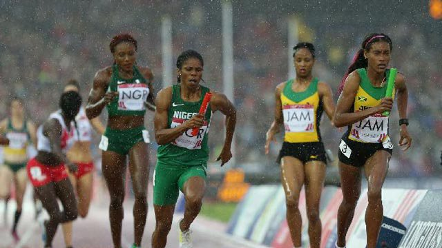 Nigeria Relay Team makes it to the for World Championships
