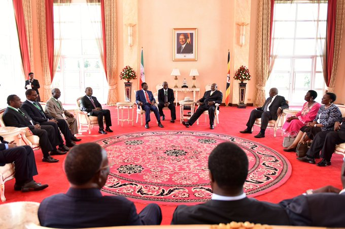 President Yoweri Museveni and other African leaders 2 (4)