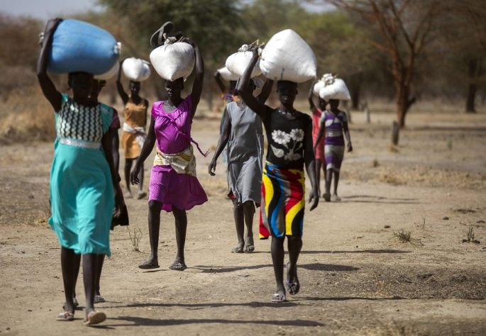 South Sudan famine: Only hope is the lifeline sent by the UK from the sky