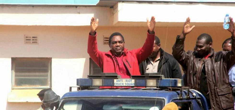 Zambia's political climate and treason trial of Hichilema worrying