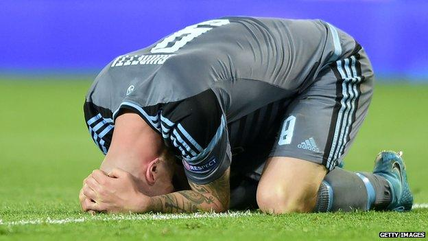 Manchester United survives large scare against Celta Vigo, to face AJAX in Europa League final