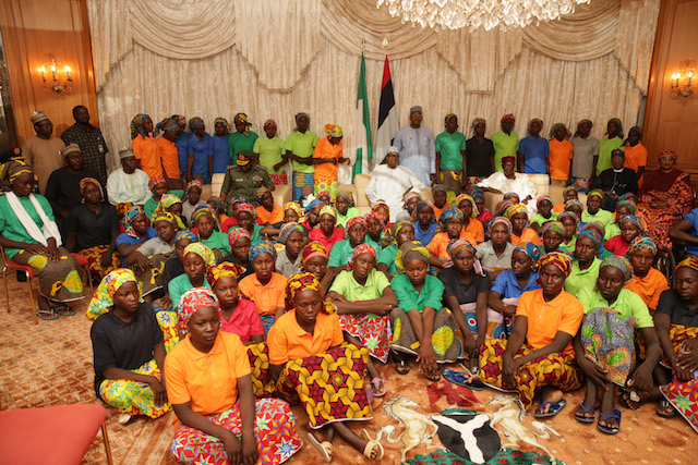 Parents of 82 Chibok girls to be hosted by Federal Government today - Reports