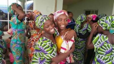 Tears and passion as 81 Chiboks girls reunite with their 21 colleagues released earlier