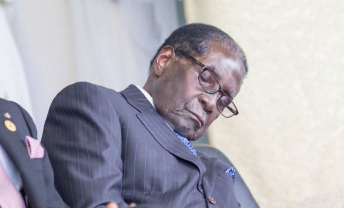 Mugabe does not sleep when he closes his eyes, he is allergic to bright light - Aid