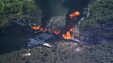 Death toll rises to 16 as Marine Corps plane crash in Mississippi