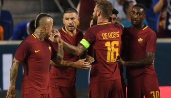 Roma resist Tottenham fightback in 3-2 friendly win