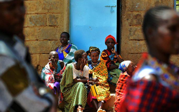 Woman gives birth to baby girl at Kenya polling station