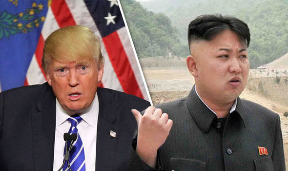 Trump threatens 'fire and fury' against North Korea