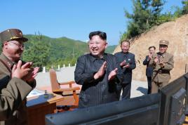 Kim Jong-Un says its 'ready' to fire missiles at Guam if US continues to show more threats